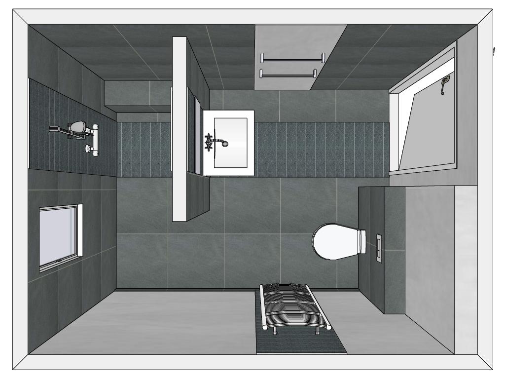 Badkamer inspiratie tot in detail franky 39 s place for Inrichting badkamer 3d