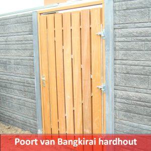 hardhout poort